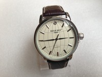 Hot sale 2014 fashion brand DEEP RED quartz watches,high quality leather strap luxury watch, skeleton military watches