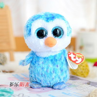 Ty big eyes 2014 colorful penguin plush toy doll gift