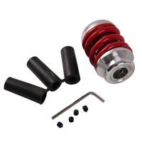 Free Shipping Aluminum Universal Manual Car Gear Stick Shift Shifter Lever Knob Red
