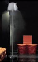 Lanting fabric glass floor lamp modern brief bedroom lights lighting lamps