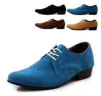 New Men's England pointed toe All-match Lace up Flats Dress Oxfords Leather Shoes Free Shipping LSM060