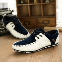 2014 New British Style Men's Horse Lace up Zapato Driving Moccasin Casual Sneakers Shoes Free Shipping LSM062