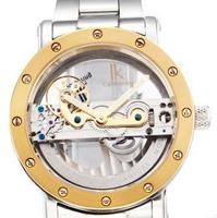 IK Apa Qi hollow automatic mechanical watch big dial watch, waterproof Men watches A1004