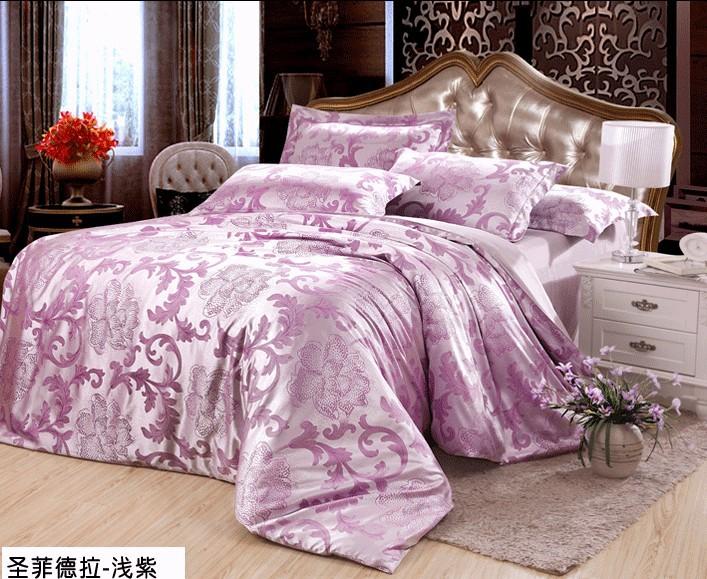Shop popular light purple comforter from china aliexpress - Light purple comforter set ...
