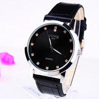 New 2014  Fashion Bright Leather Strap Watches ,man Quartz Dress Watch,free shipping 168260