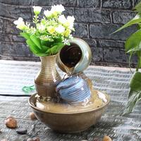 Water decoration home accessories ceramic vase jar fresh air