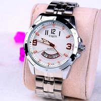 Fashion Stainless steel Strap Quartz Men luminous watch  ,Men Dress Wrist watch with Calendar Date , 30M Waterproof  167862