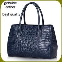 Genuine leather women handbags 2014 new embossed crocodile Fashion  Shoulder Bag women Messenger bags women's leather handbags
