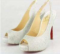 famous brand women pumps high heels new 2014 women red bottom high heels summer brand pumps designed red sole wedding shoes
