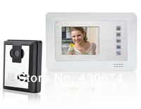 """3.5"""" TFT Color Video Door Phone Doorbell with IR Night Vision (White)-SY353MA11"""