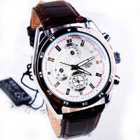 Fashion leather Strap Quartz Men  watch  ,Men Dress Wrist watch , 30M Waterproof  158976