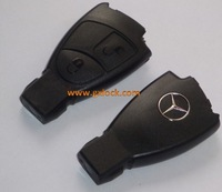 MERCEDES BENZ REMOTE 2 BUTTONS KEY CASE SHELL FOR CLK SLK S A B C CLASS with logos