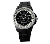Hot Sale SINOBI Ladies Quartz Watch Round Dial Japan Movement Men Rhinestone Stainless Steel Watch Top Quality Wristwatch