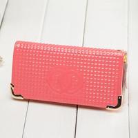 Women Wallet Clutch 2014 new zipper wallet purse female lizards bright side air bags Korea