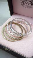 Bracelet accessories gold silver metal circle mix match