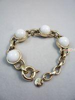 Bracelet white jade bright decoration