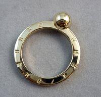 Ring dyrberg kern bright gold Medium sphere dk4