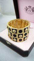 Bracelet elastic line vintage gold quality logo sculpture 140221 011 02