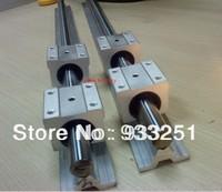 6 pcs SBR20--1400mm 20mm FULLY SUPPORTED LINEAR Rail SHAFT ROD with 12 SBR20UU bearing blocks