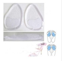 10 Pairs Silicon Shoes Foot Gel High Heels Back Pads Insole Arch Support Cushion