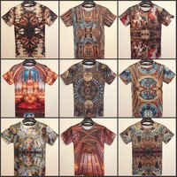 Fashion lovers baroque short-sleeve T-shirt series