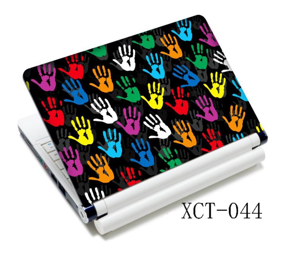 Laptop Colors Colorful Hands Laptop Sticker
