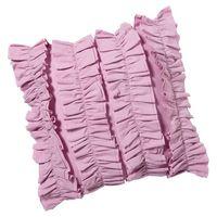 """Ruffle Pillow Covers-17X17""""/45X45CM"""