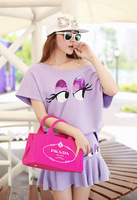 Women's fashion all-match shorts clothing sets women's 2014 spring and summer clothes set