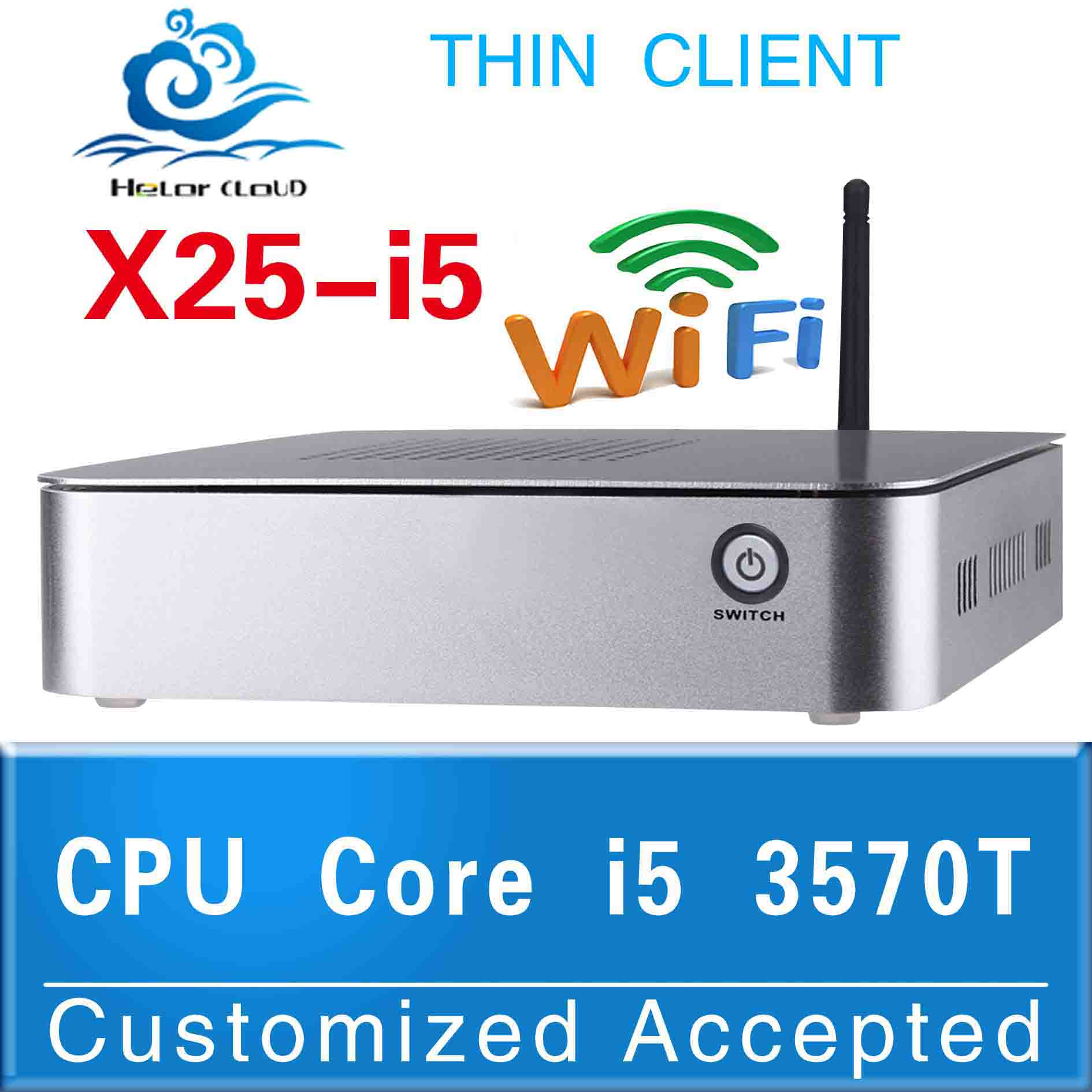 embedded pc thin computer thin client mini pc support os WIN7, Linux, Windows XP,Ubuntu Debian(China (Mainland))