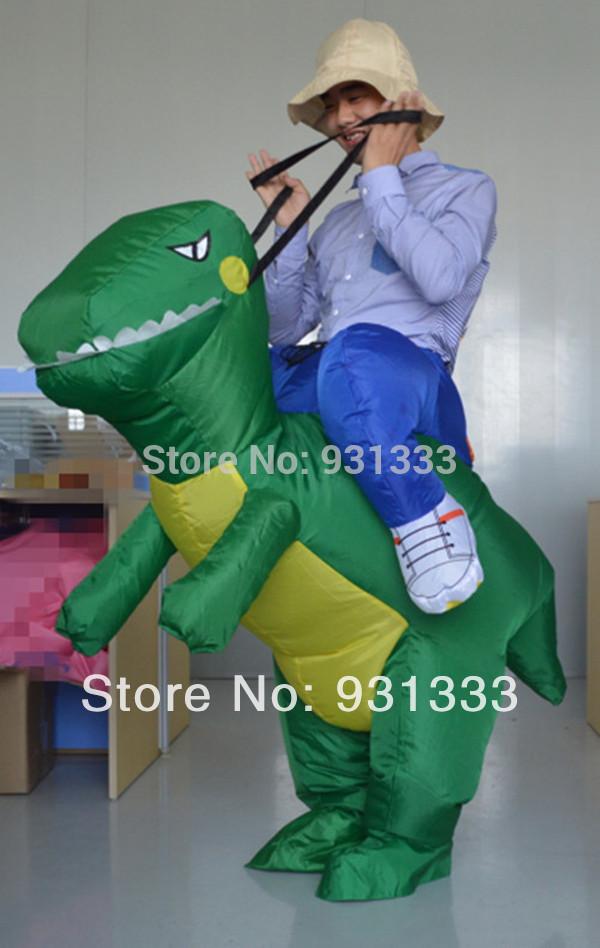 2014 heißer verkauf kostenloser versand aufblasbare fantasia männer aufblasbare kostüme für erwachsene Party-Themen kostüm dinosaurier kostüm