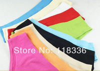 sally she Women's candy color 100% cotton comfortable fashion brief sexy low-waist triangle panties