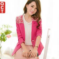 Qct x501 2014 spring outerwear female blazer outerwear slim long-sleeve women's blazer
