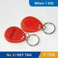 NO. 2 RFID Key Tag, RFID Key Fob for access control, RFID Tag, RFID Token With MF1 S50 Chip free shipping