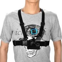 Chest Body Harness Belt Strap Adapter Mount Anpassung elastisch Koerper Brustgurt Halterung Guertel for Gopro Hero 1 2 3 Camera