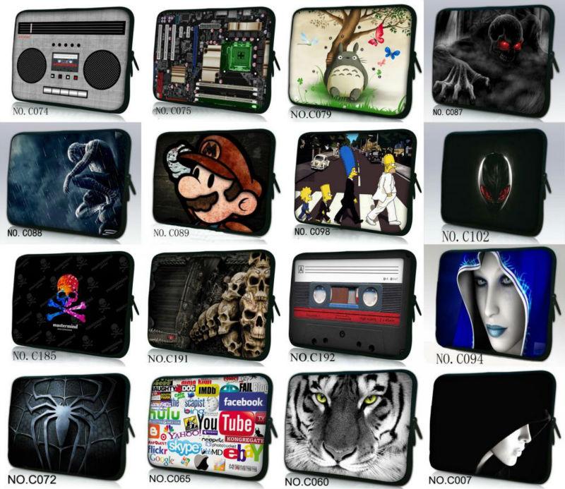 "Fashion 10 ' , 12 "" , 13 "", 14 "" , 15"" e 17 "" polegadas Notebook Netbook Bag Laptop Sleeve Case Bolsa Capa Protector Porta HOT(China (Mainland))"