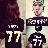 Exo gd pyrex23 yeezy77 digital lovers short-sleeve T-shirt