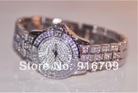 New Arrival Female Luxury Crystal Full Rhinestone Watches dress Shining Women's Watch Ladies Bracelet Wristwatch