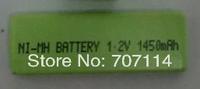 Free shipping 50pcs/lot rechargeable NI-MH 1.2V 1450mAh battery