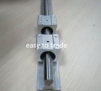 1 set SBR16-2000mm FULLY SUPPORTED LINEAR RAIL cnc + 1 pcs SBR16UU  bearing block