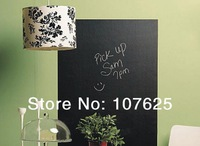 Wall Stickers Removable Blackboard Decals blackboard green board white board with five chalks 45CMx200cm Free Shipping