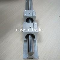 1 Set SBR20-1600MM 20mm FULLY SUPPORTED LINEAR RAIL SHAFT ROD with 2 SBR20UU