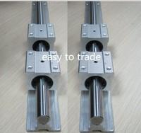 4 set SBR30-1200mm 30 MM FULLY SUPPORTED LINEAR RAIL SHAFT ROD + 8 pcs SBR30UU