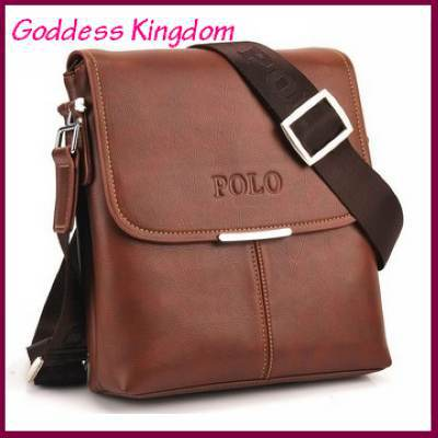 free shipping hot sell high quality fashion pu leather messenger bags for men,new casual men bag,business mens shoulder bag(China (Mainland))