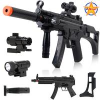 Toy gun boy toy submachinegun toy gun acoustooptical electric toy