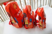 free shipping cars lightening toys double-shoulder baby children kids kindergarten boys cartoon backpack school bag