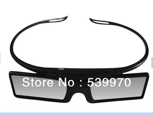 Hot Sell Bluetooth 3D Active Shutter Glasses for 3D for Samsung LG TV HDTV Blue-ray Player Free Shipping Wholesale(China (Mainland))
