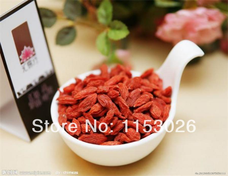 wholesale goji berry tea 1000g organic dried fruit for better sex &weight loss brand puer goji tea 250gx4 in green drinking(China (Mainland))