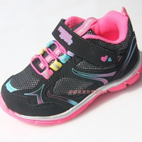 free shipping 2014 girl child sport shoes spring and autumn children kids casual shoes children athletic shoes