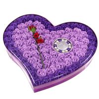 92 flower bracelet rose soap flower gift box birthday gift crafts