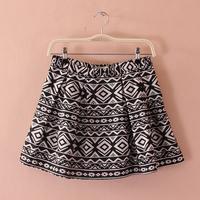 Spring side zipper slim women's bust skirt bust skirt short skirt mini a-line skirt